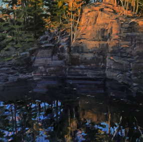 Quarry Reflections 18. Dusk