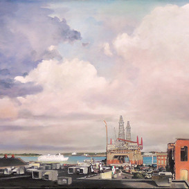 Oil Rigs from Newbury St.