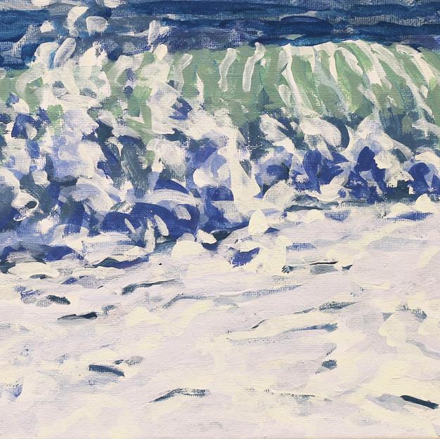 Surf/ Blue Series #4