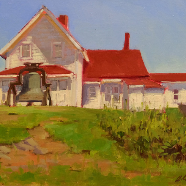 Alsion Hill, Bell at the Lighthouse