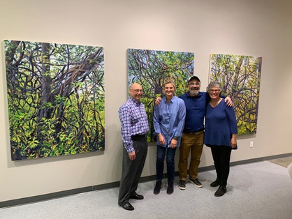 """""""Entangled Space"""" & """"Bedscapes and Beyond"""" Opening Reception"""