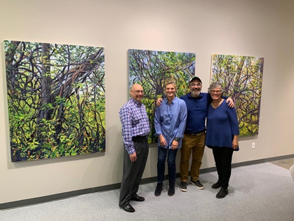 """Entangled Space"" & ""Bedscapes and Beyond"" Opening Reception"