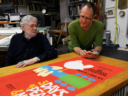 Arnold Skolnick, the artist behind the famous Woodstock poster reprinting limited-edition