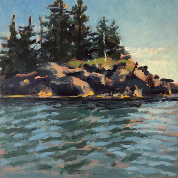 Sparrow Island, Morning Paddle