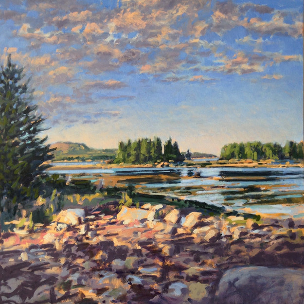 Late Afternoon, Towards Acadia