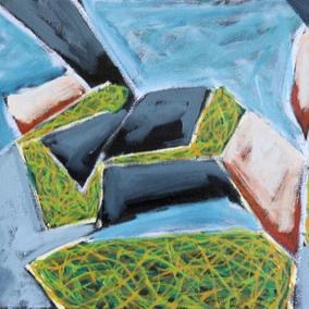 Island Geometry, Monhegan: Rockweed No. 2