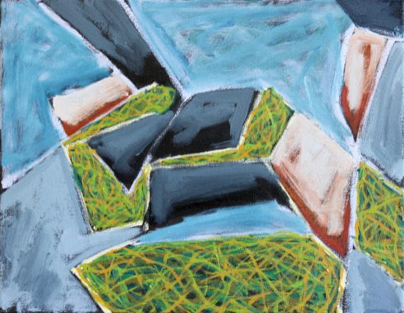 Island Geometry, Monhegan: Rockweed No.2