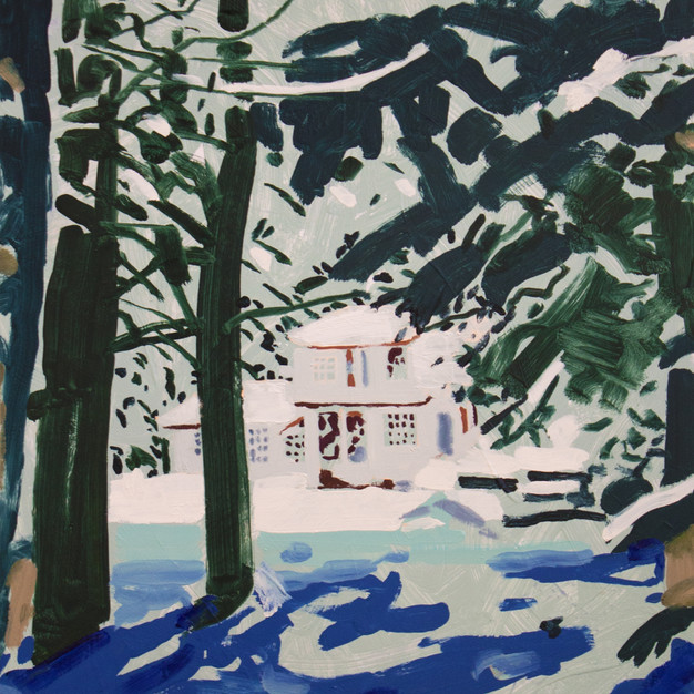 House Through the Trees- SOLD