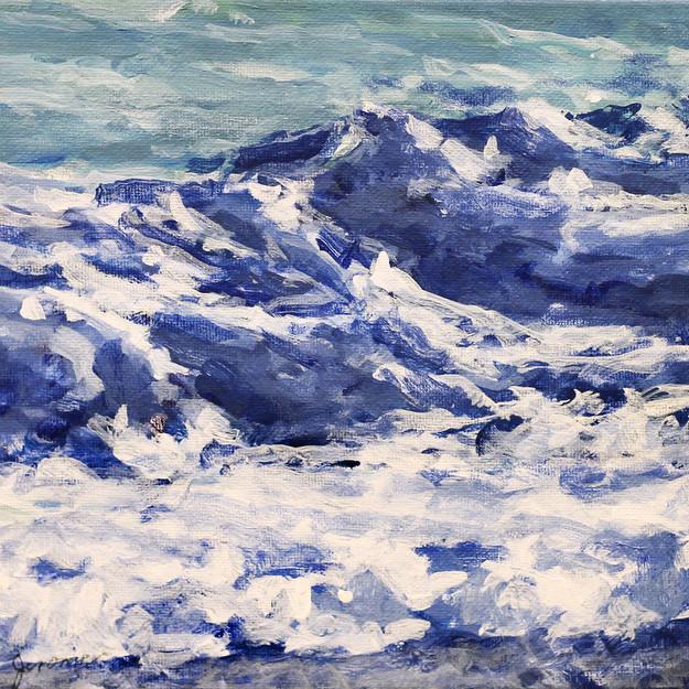 Surf/ Blue Series #17