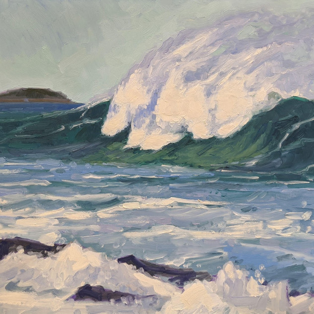 Breaking Wave, Prouts Neck