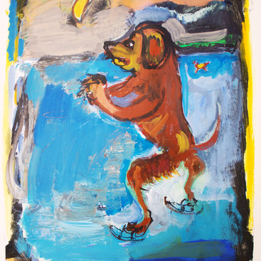 Dog on Thin Ice