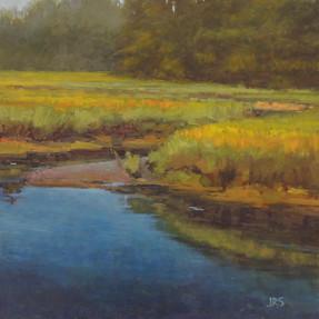 Calm Water, Stroudwater Marsh