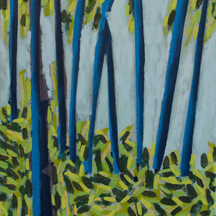 Blue Trees No. 1