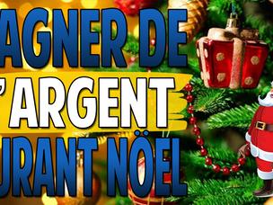 Gagner de l'argent durant Noël   Business de Noël   15 idées de Business