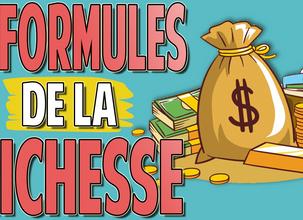 5 Formules de la Richesse   Augmente la Rentabilité de tes Investissements + CADEAU