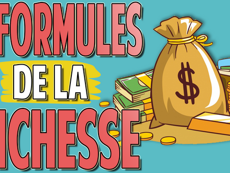 5 Formules de la Richesse | Augmente la Rentabilité de tes Investissements + CADEAU