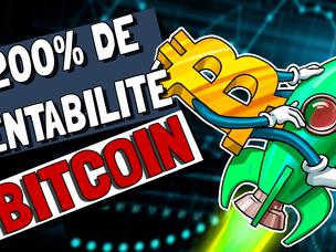 ⚠️📈💪🏼 BitCoin : VERS DE NOUVEAUX RECORDS ?! +200% De RENTABILITÉ