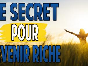 Le secret pour devenir riche | La métaphore du verre d'eau | Élargir son esprit | Contenant et C