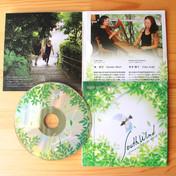 音楽CDジャケットデザイン+イラスト制作