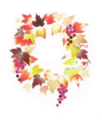 秋のいろどり