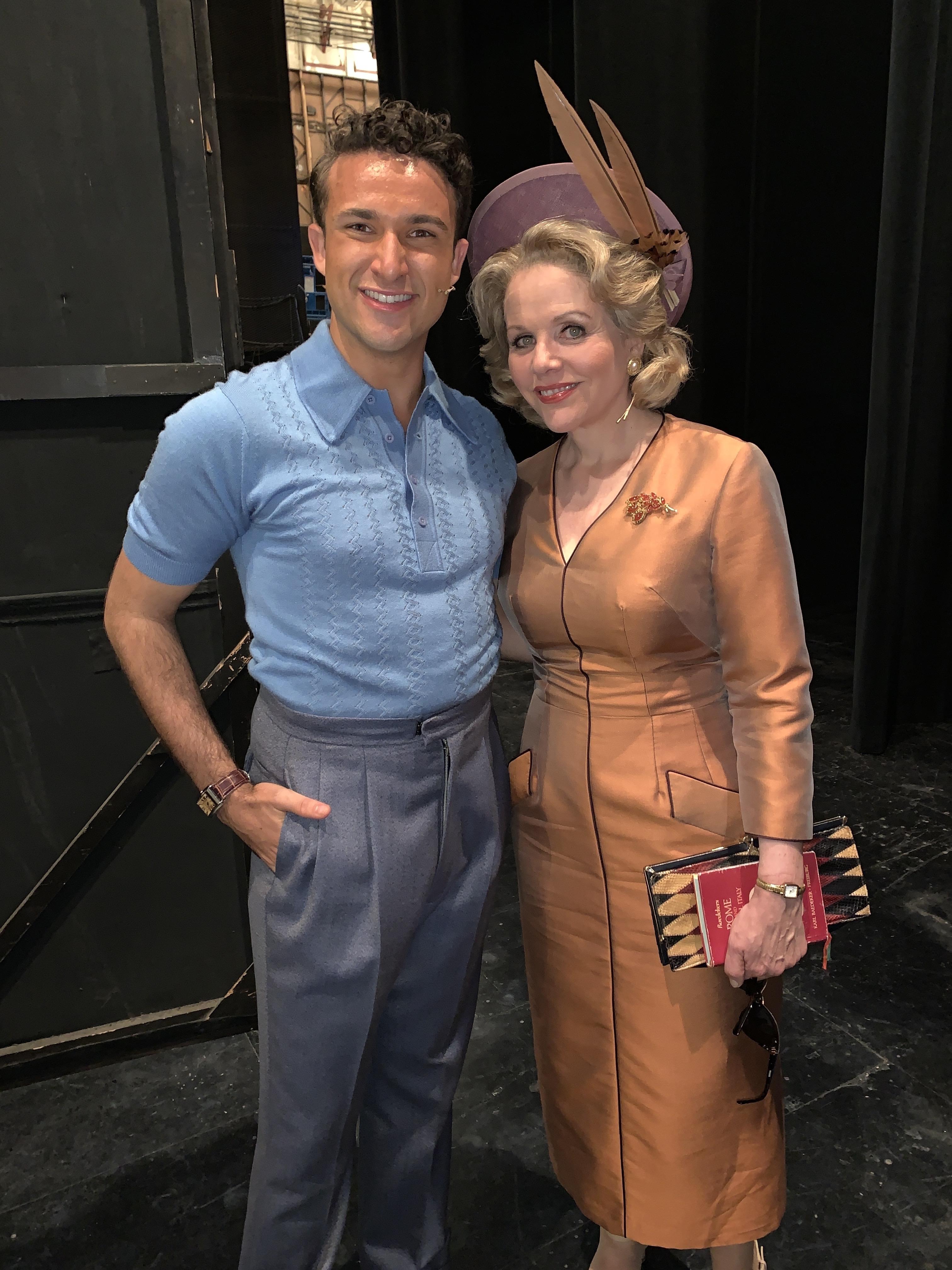 Renee Fleming & Danny Becker at the LA Oprah