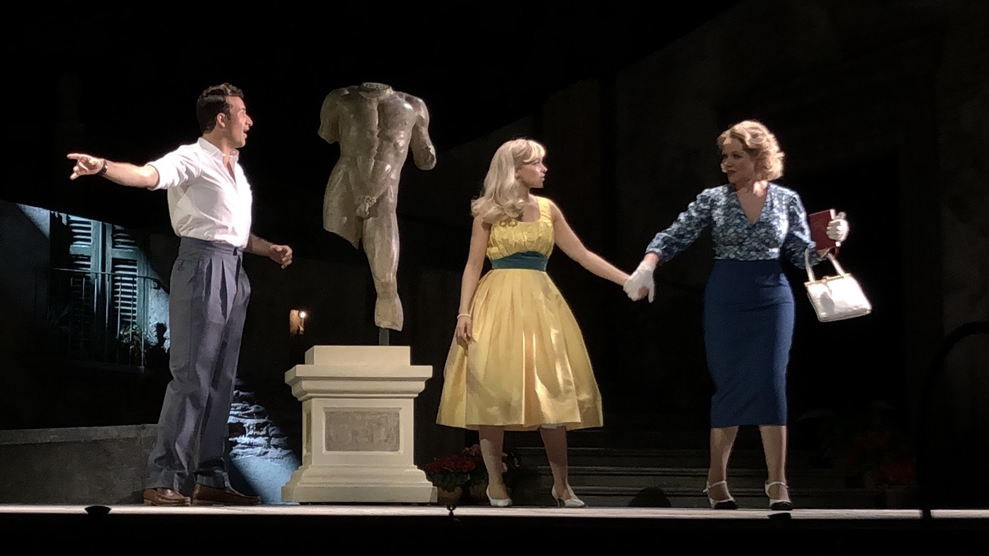 Renee Fleming, Dove Cameron & Danny Becker in The Light In The Piazza