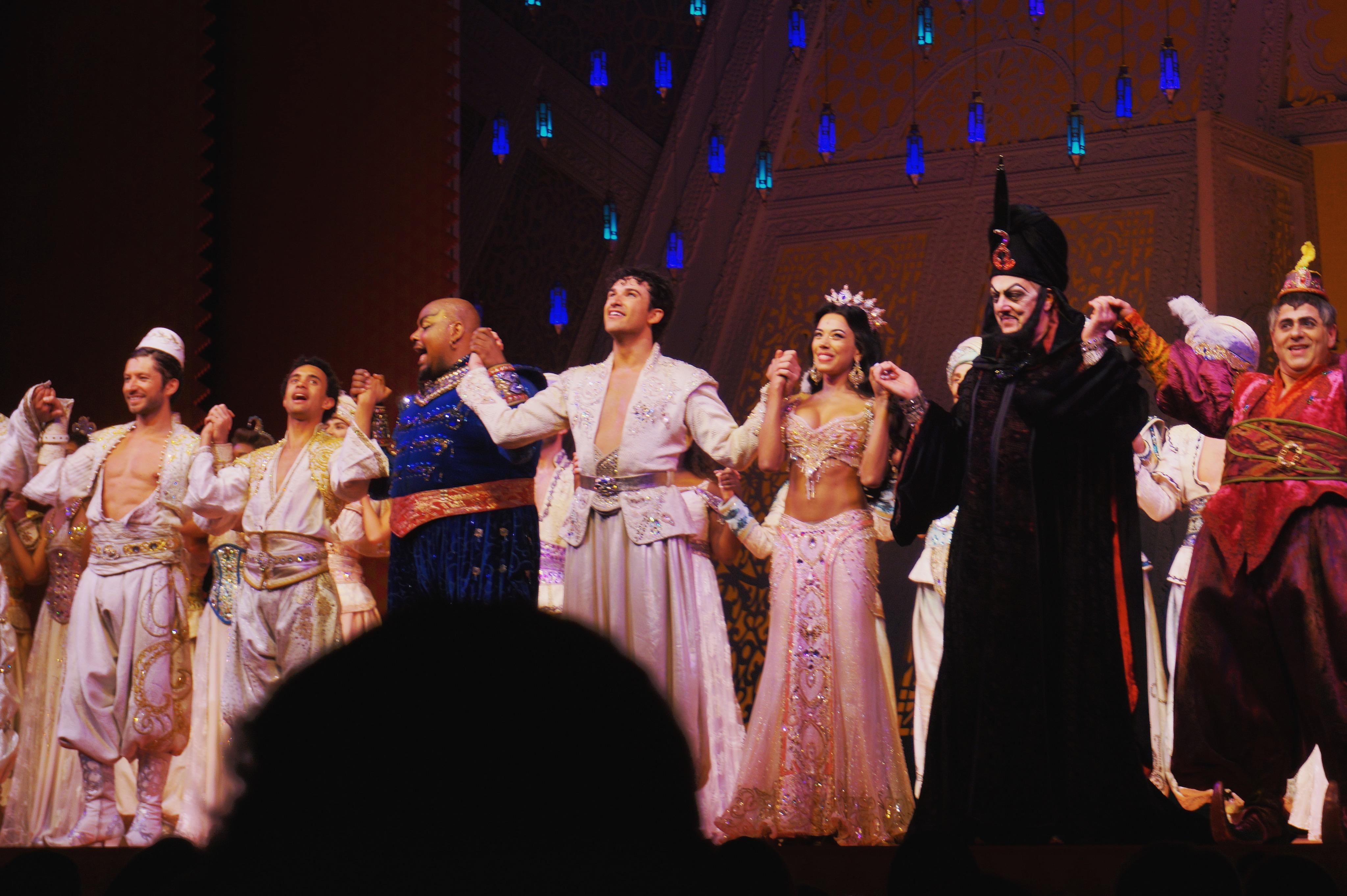 Danny Becker as Aladdin (West End)