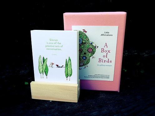 Little Affirmations - A Box of Birds