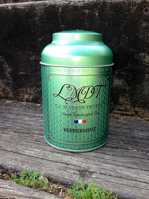 Peppermint - LMDT French Handcrafted Tea & Tin