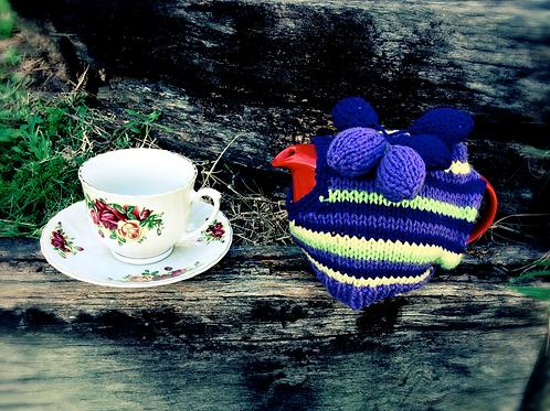 Handmade TEA COSIE W/ TEA POT