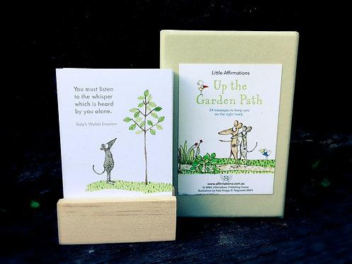 Little Affirmations - Up The Garden Path