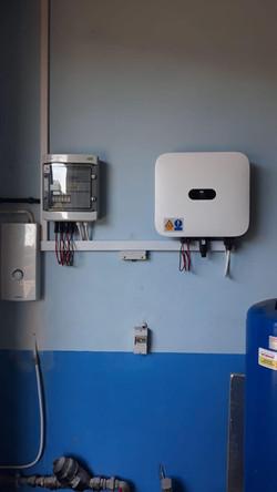 Instalacja Fotowoltaiczna 9,2 kWp - inwerter Hyuawei