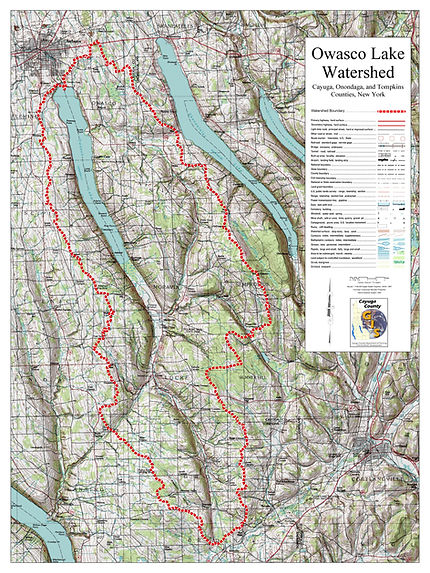 Owasco Lake Watershed_Common Topographic
