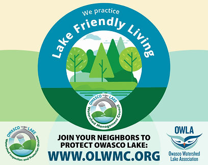 Lake Friendly Living Lawn Sign REVISION