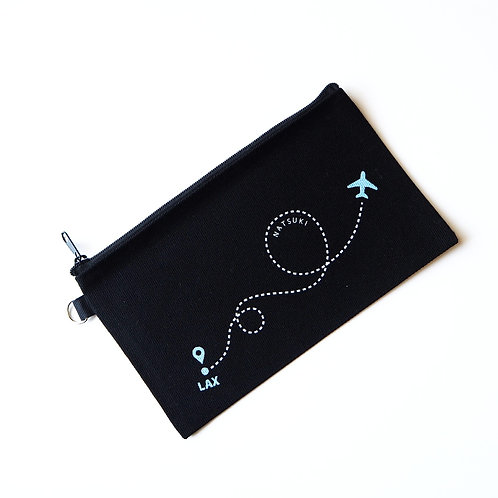 En Route | Customized Name Pouch