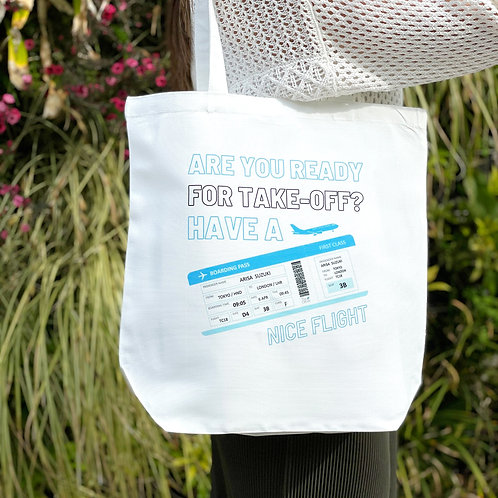 Boarding Pass | Tote Bag