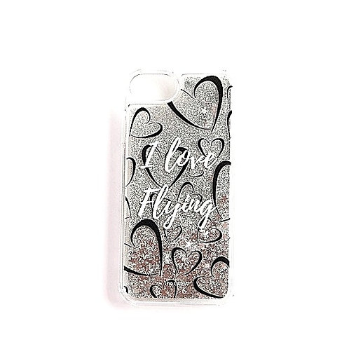 I love Flying | Glitter Phone Case