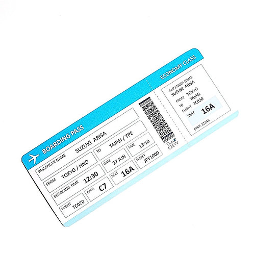 Boarding Pass Gift Ticket