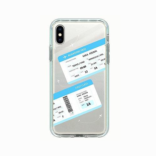 Boarding Pass | Mirror Phone Case