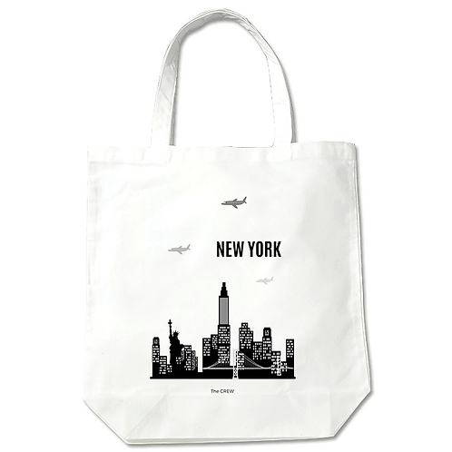 World City | Customized Name Tote Bag