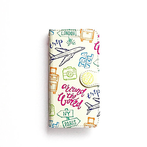 TRAVEL ② | Booklet Phone Case