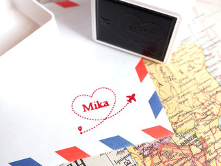 New! Customized Name Stamp