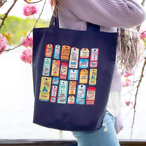 AIR TAG | Canvas Tote Bag