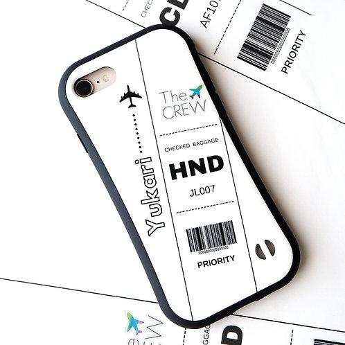 Luggage Tag Design | Grip Phone Case