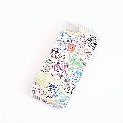 Passport Stamps | Mirror Phone Case