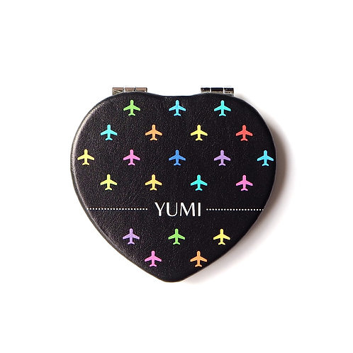 Planes | Customized Name Compact Mirror