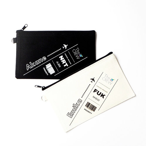 Luggage Tag Design | Pouch