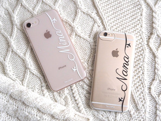 Customized Name Clear Case