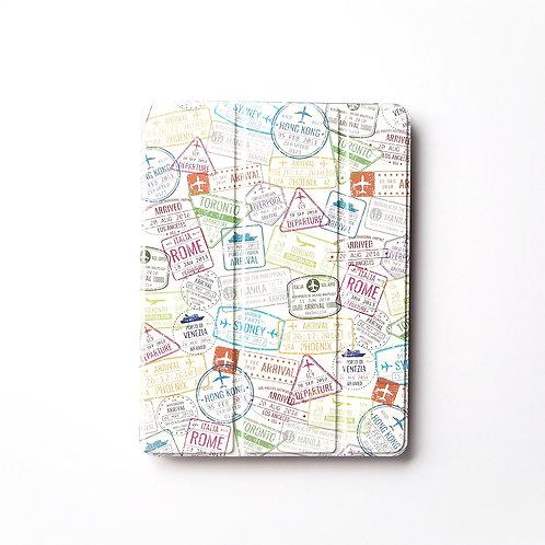 Passport Stamps | iPad Booklet Case