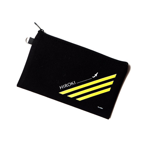 The Pilot | Customized Name Pouch